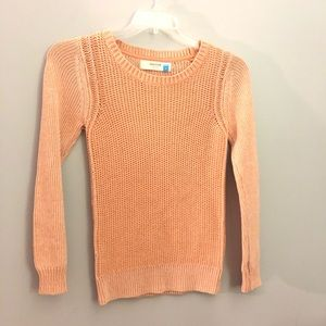 Anthropologie | Sparrow Rose knit sweater | S